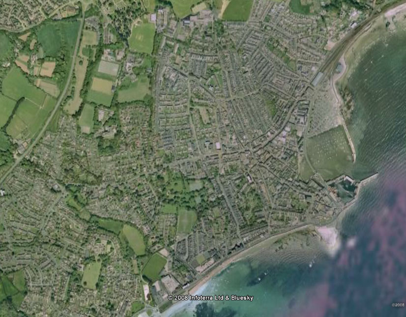 Purely Penzance Maps Of Penzance Heamoor - Google earth satellite map