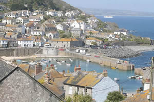 mousehole harbour near newlyn cornwall