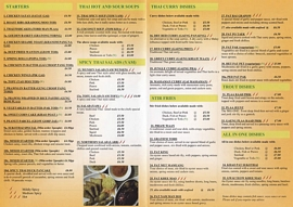 sukothai thai takeaway menu penzance
